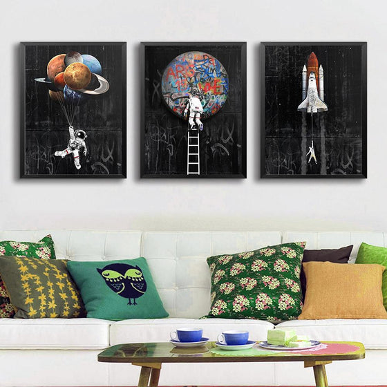 Space Collection - 3 Pack - TheCanvasWarehouse