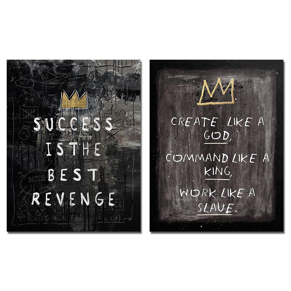 Create Like a God to Succeed - 2 Pack - TheCanvasWarehouse