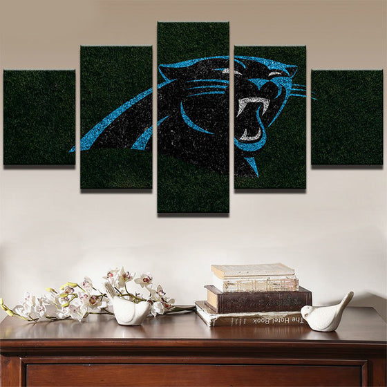 Carolina Panthers - 5 Piece Set - TheCanvasWarehouse