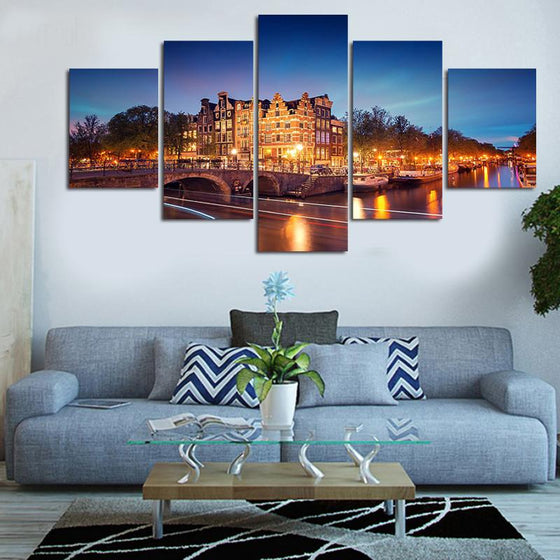 Amsterdam - 5 Piece Set - TheCanvasWarehouse