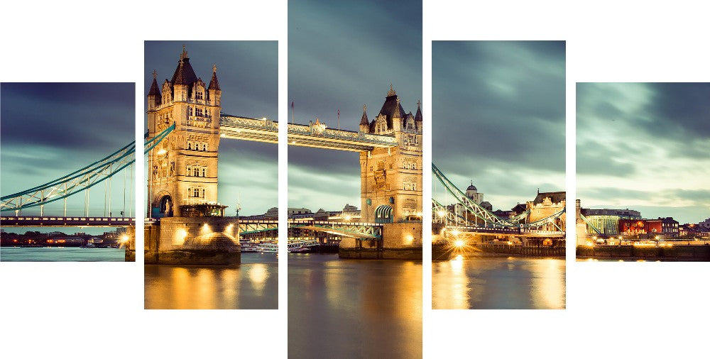 London Bridge - 5 Piece Set - TheCanvasWarehouse