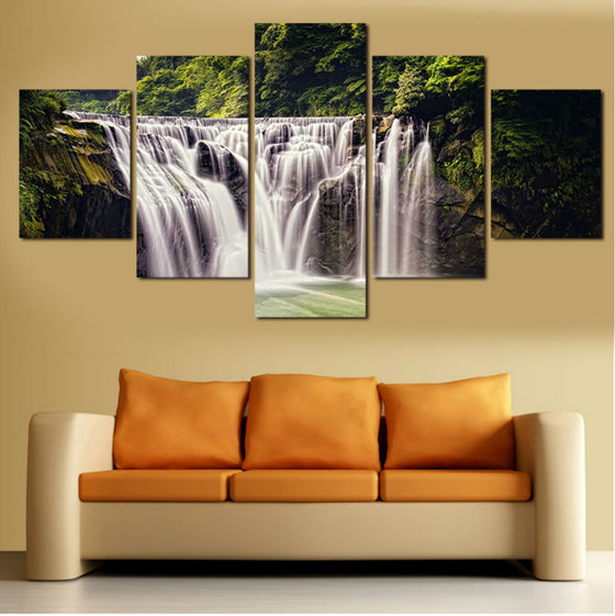 Chasing Waterfalls - 5 Piece Set - TheCanvasWarehouse