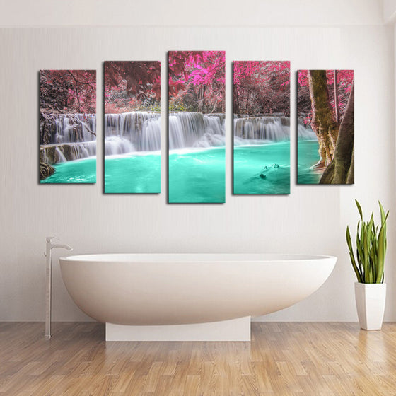Serenity Waterfall - 5 Piece Set - TheCanvasWarehouse