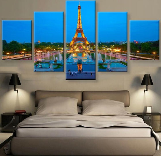 Paris - 5 Piece Set - TheCanvasWarehouse