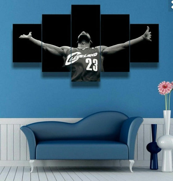 Lebron James - 5 Piece Set - TheCanvasWarehouse