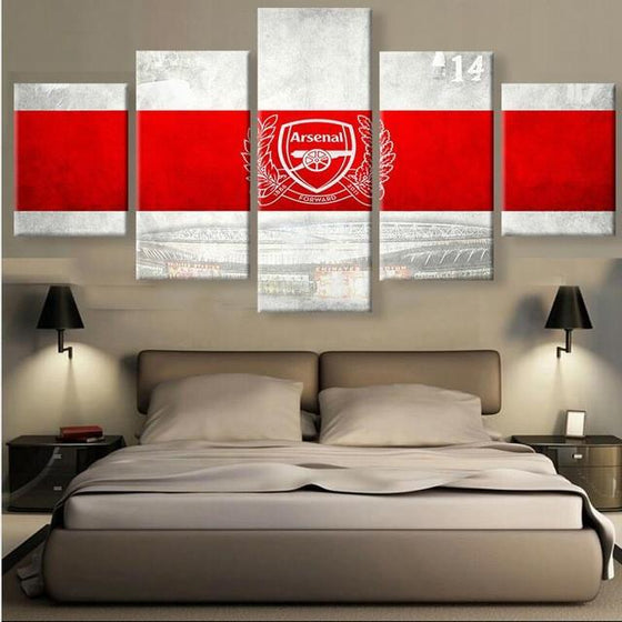 Arsenal FC - 5 Piece Set - TheCanvasWarehouse