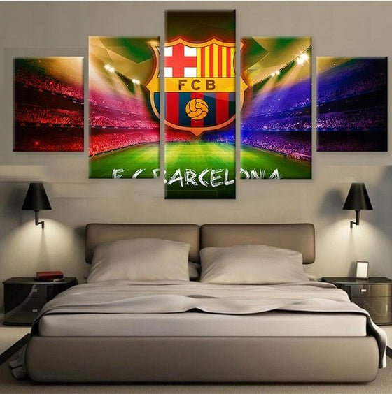 FC Barcelona - 5 Piece Set - TheCanvasWarehouse