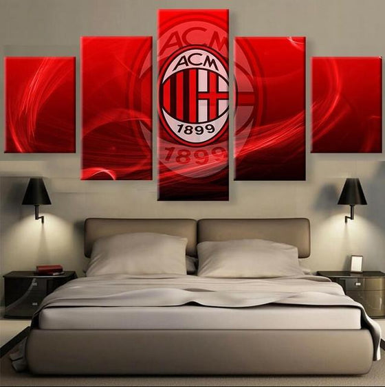 AC Milan - 5 Piece Set - TheCanvasWarehouse