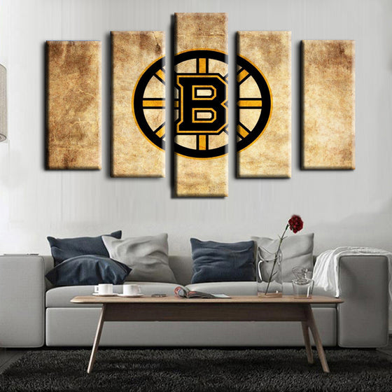 Boston Bruins - 5 Piece Set - TheCanvasWarehouse
