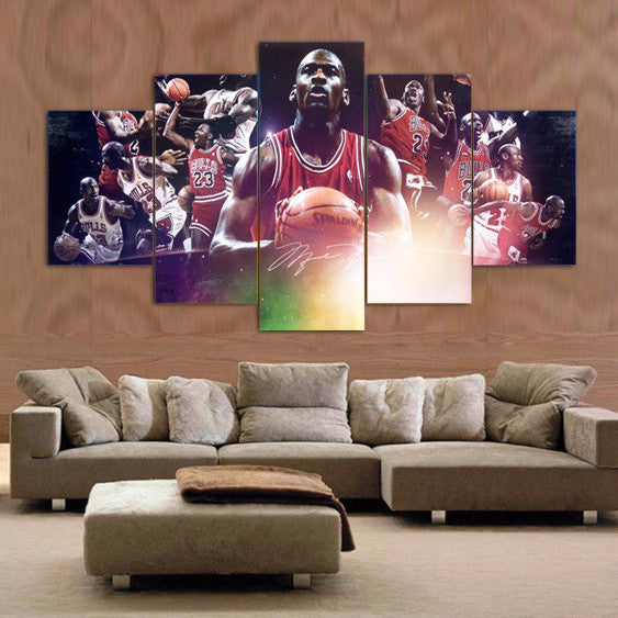 Michael Jordan - 5 Piece Set - TheCanvasWarehouse