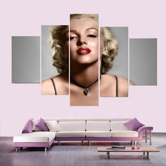 Marilyn Monroe - 5 Piece Set - TheCanvasWarehouse