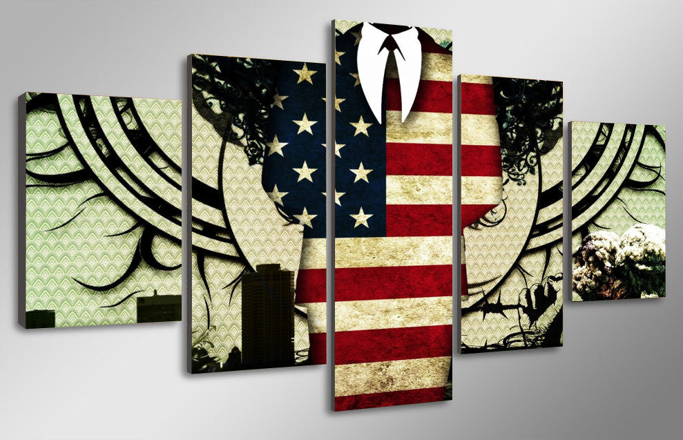 The American Business Man - 5 Piece Set - TheCanvasWarehouse