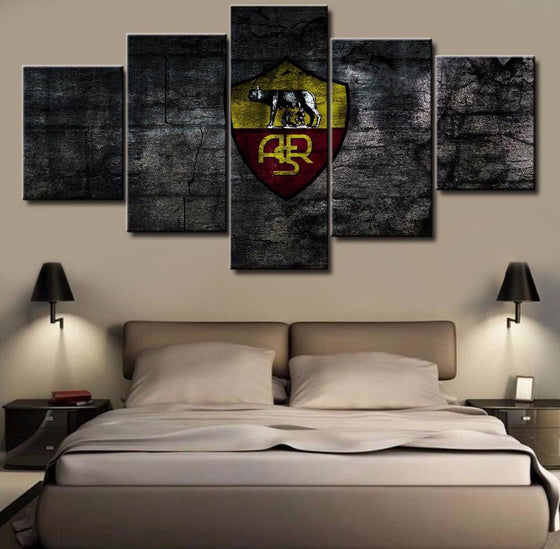 A.S. Roma - 5 Piece Set - TheCanvasWarehouse