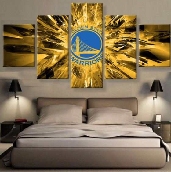 Golden State Warriors - 5 Piece Set - TheCanvasWarehouse