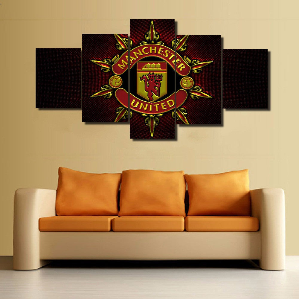 Manchester United - 5 Piece Set - TheCanvasWarehouse