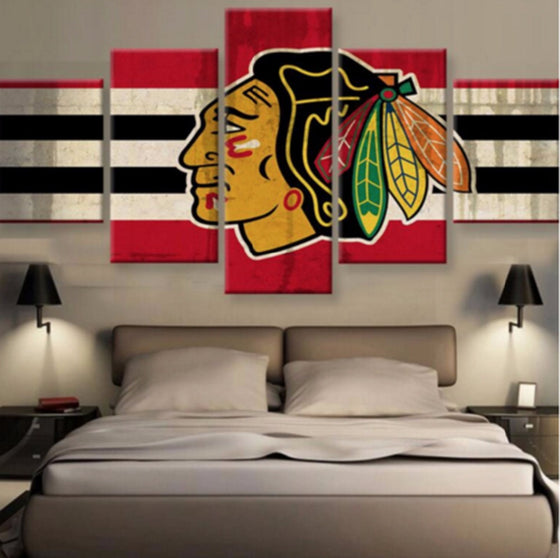 Chicago Blackhawks - 5 Piece Set - TheCanvasWarehouse