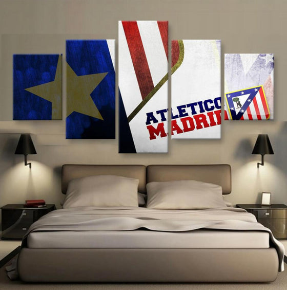 Atletico Madrid - 5 Piece Set - TheCanvasWarehouse