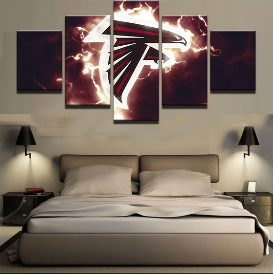 Atlanta Falcons - 5 Piece Set - TheCanvasWarehouse