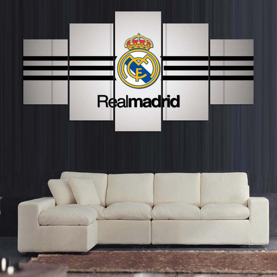 Real Madrid - 5 Piece Set - TheCanvasWarehouse