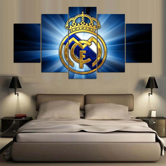 Real Madrid Away - 5 Piece Set - TheCanvasWarehouse