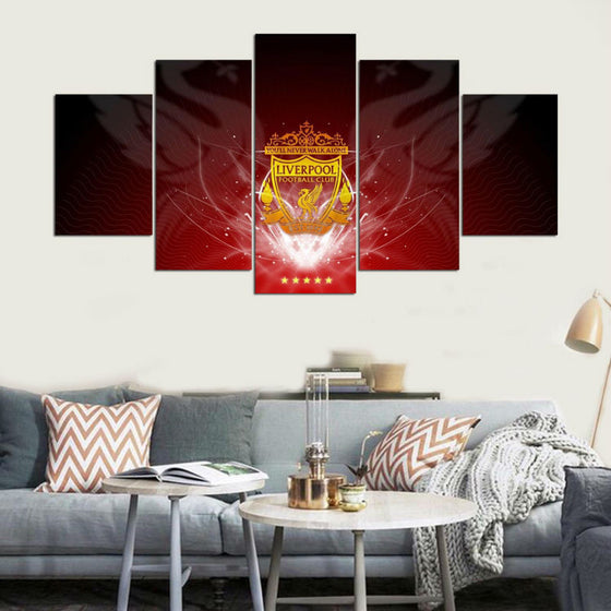 Liverpool FC - 5 Piece Set - TheCanvasWarehouse
