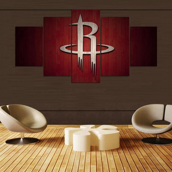 Houston Rockets - 5 Piece Set - TheCanvasWarehouse