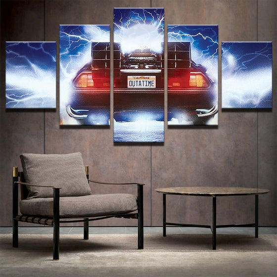 Back to the Future - 5 Piece Set - TheCanvasWarehouse