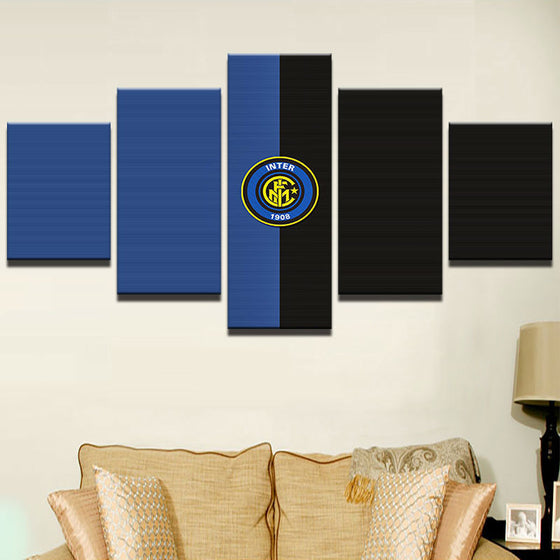 Inter Milan 2 - 5 Piece Set - TheCanvasWarehouse