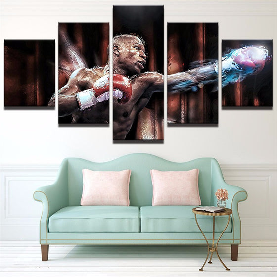Floyd Mayweather - 5 Piece Set - TheCanvasWarehouse