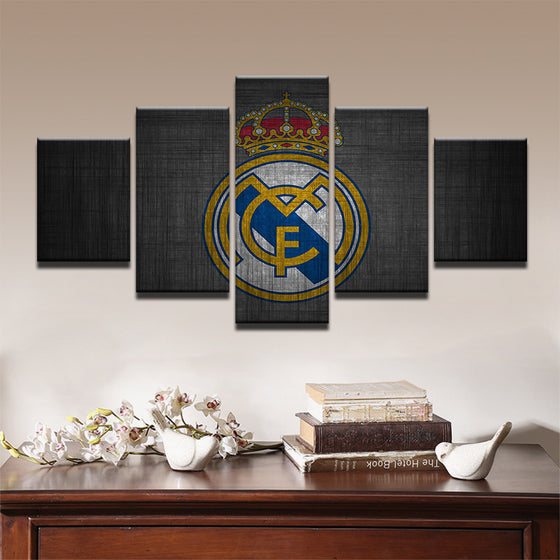 Real Madrid Dark - 5 Piece Set - TheCanvasWarehouse
