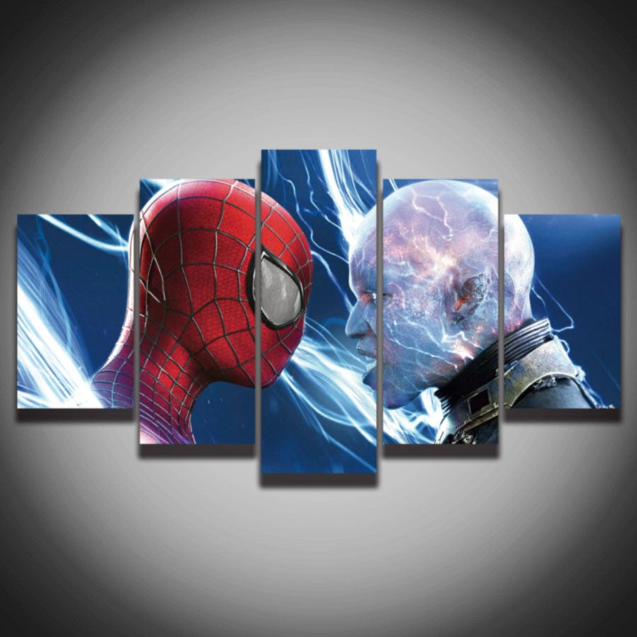 The Amazing Spider Man 2 - 5 Piece Set - TheCanvasWarehouse
