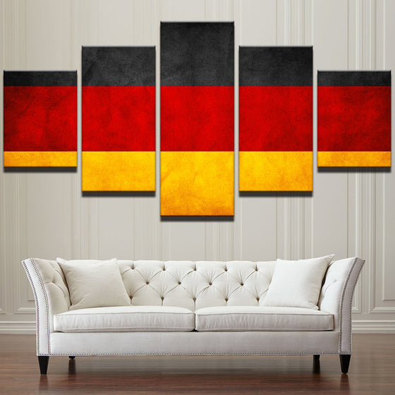 German Flag - 5 Piece Set - TheCanvasWarehouse