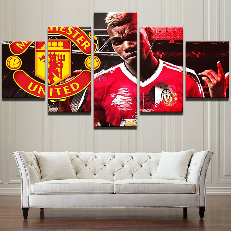 "Paul Pogba ""Legend"" - 5 Piece Set - TheCanvasWarehouse"