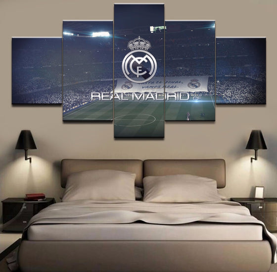 Real Madrid Stadium - 5 Piece Set - TheCanvasWarehouse