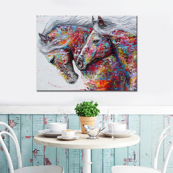 Horses of the Rainbow - TheCanvasWarehouse