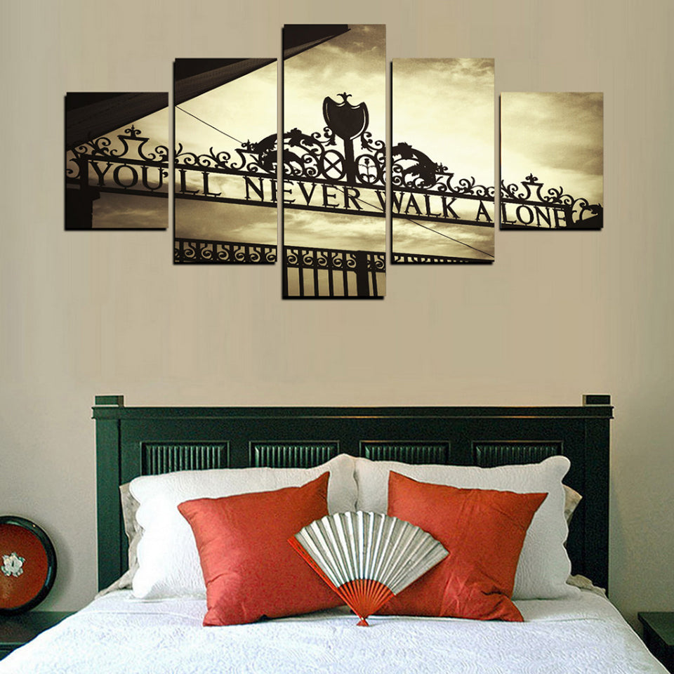 You Will Never Walk Alone - 5 Piece Set - TheCanvasWarehouse