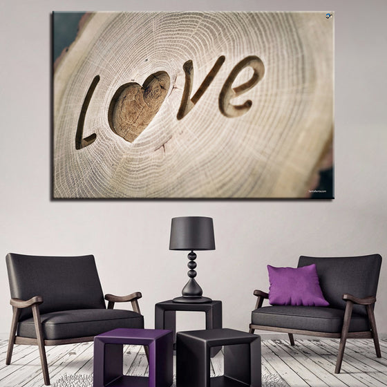 Love Engraved - TheCanvasWarehouse