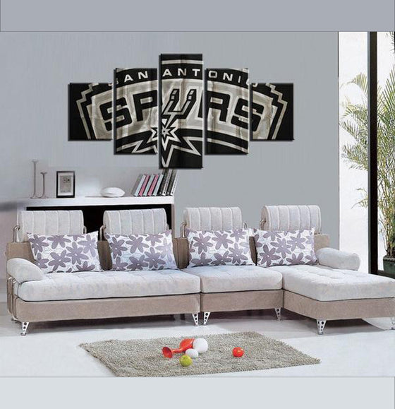 San Antonio Spurs - 5 Piece Set - TheCanvasWarehouse