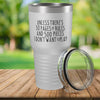 Torched Products White 30 Pages of Rules Laser Engraved Tumbler