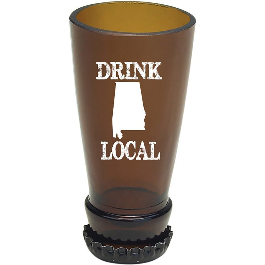 Torched Products Barware Alabama Drink Local Beer Bottle Shot Glass