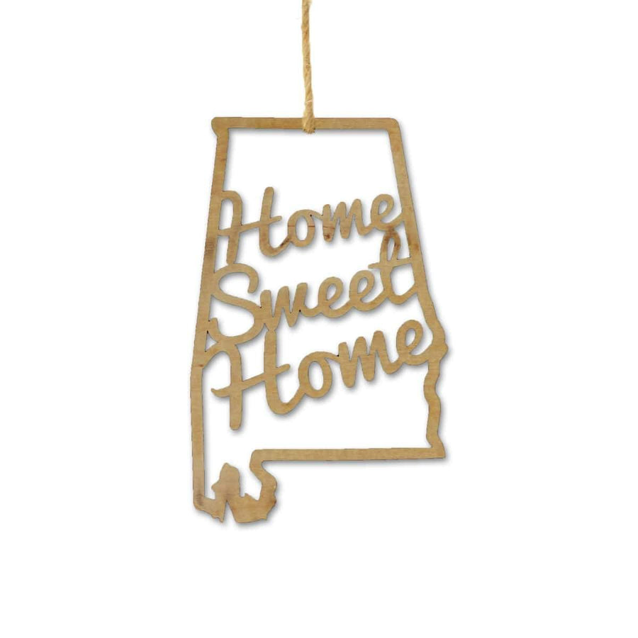 Torched Products Ornaments Alabama Home Sweet Home Ornaments (781210550389)