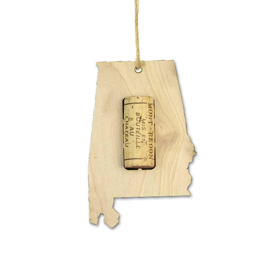 Torched Products Wine Cork Holder Alabama Wine Cork Holder Ornaments (781194428533)