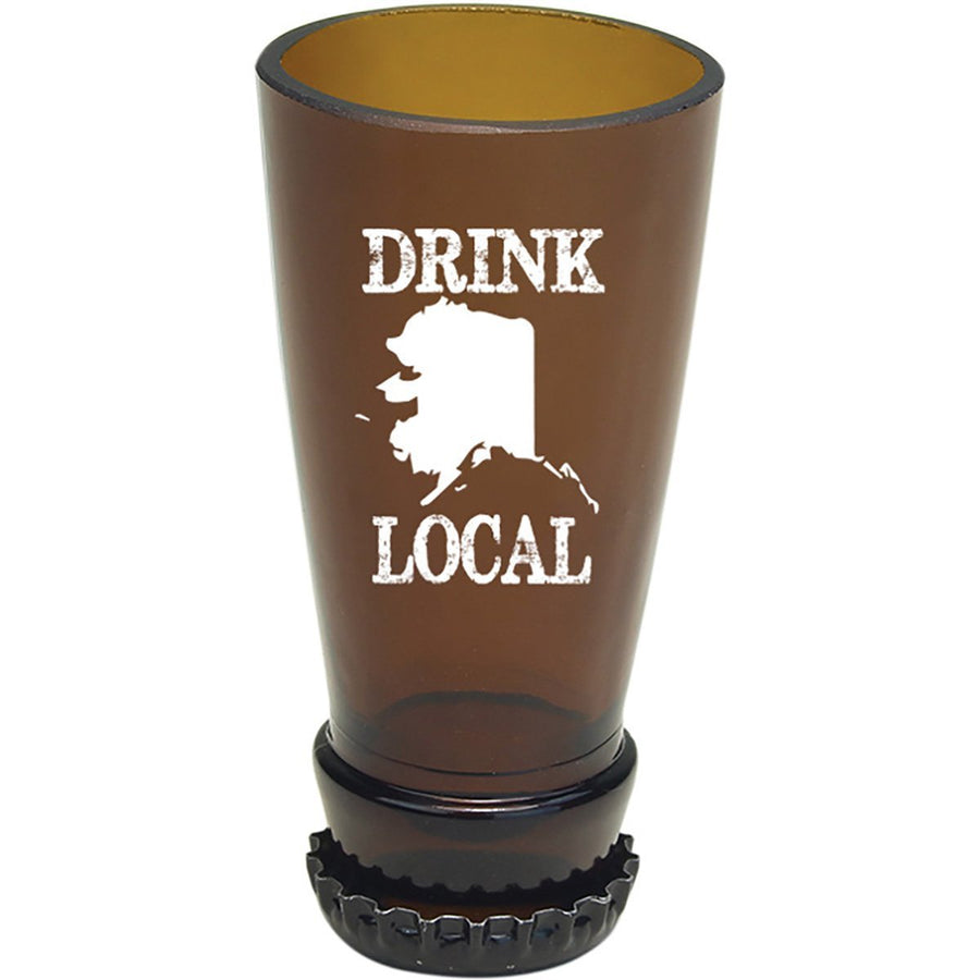 Torched Products Barware Alaska Drink Local Beer Bottle Shot Glass