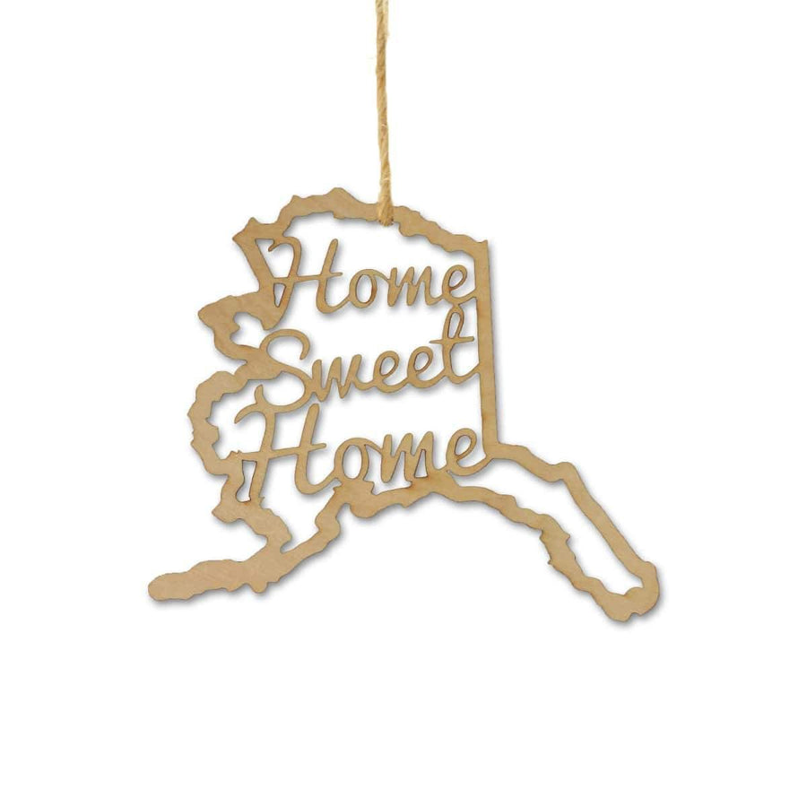 Torched Products Ornaments Alaska Home Sweet Home Ornaments
