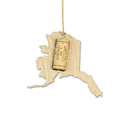 Torched Products Wine Cork Holder Alaska Wine Cork Holder Ornaments