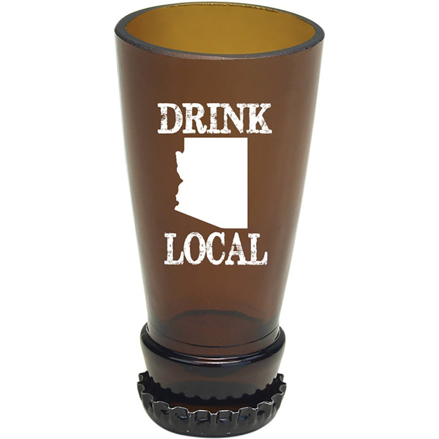 Torched Products Barware Arizona Drink Local Beer Bottle Shot Glass
