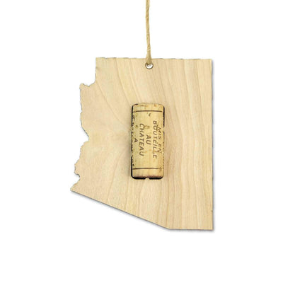 Torched Products Wine Cork Holder Arizona Wine Cork Holder Ornaments