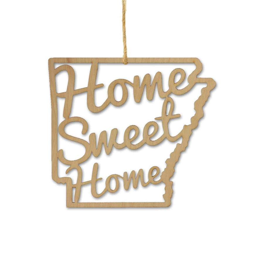 Torched Products Ornaments Arkansas Home Sweet Home Ornaments