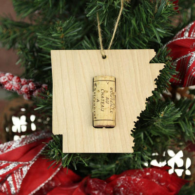 Torched Products Wine Cork Holder Arkansas Wine Cork Holder Ornaments