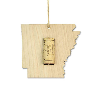 Torched Products Wine Cork Holder Arkansas Wine Cork Holder Ornaments (781195116661)
